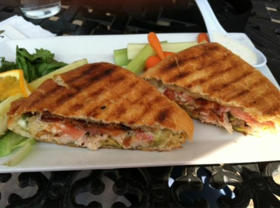 Spoons Bistro & Bakery: Delicious panini from Spoons, Grand Junction, CO