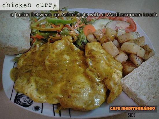 Cafe Mediterraneo: Chicken Curry