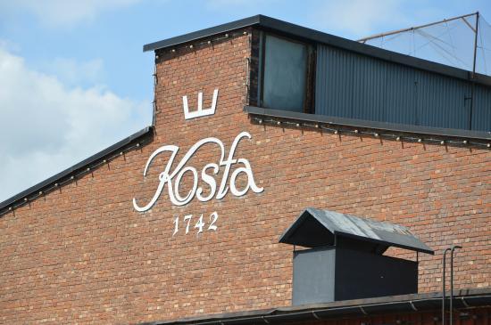 Kosta Boda : Kosta factory