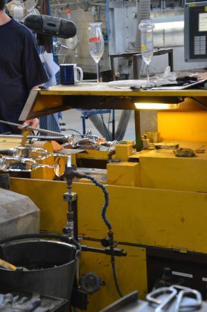 Kosta Boda : Glass making
