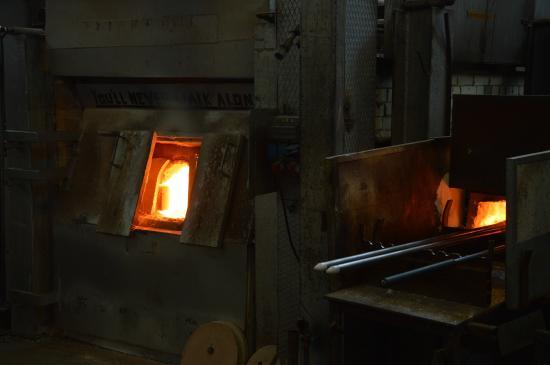 Kosta Boda : Glass ovens