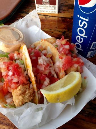 Dog House: fish tacos