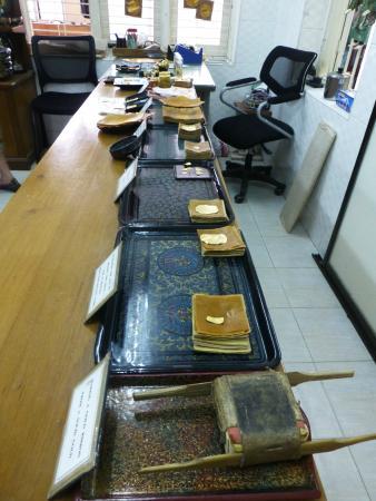 King Galon Gold Leaf Workshop: shop
