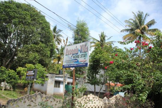 Bougainvilla: land mark