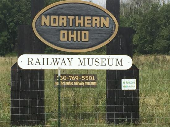 Seville, OH: Northern Ohio Railway Museum
