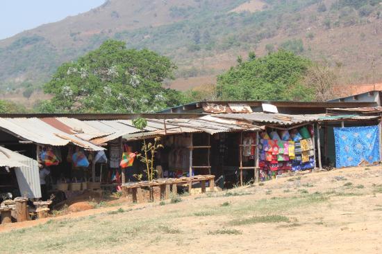 Mbabane, Suazilandia: mercado de artesanato - Suazilândia