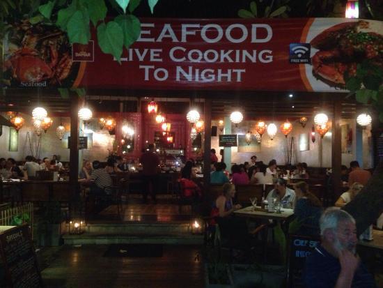 Warung Damar: Fresh grilled