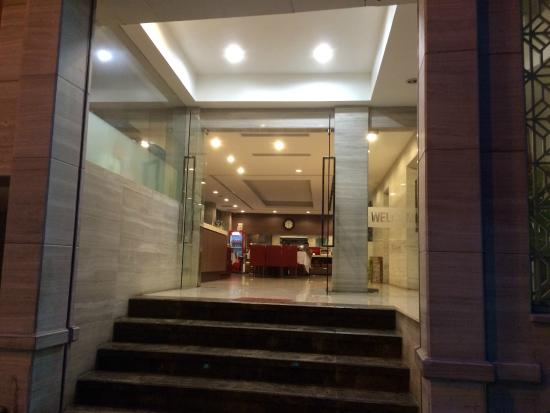 Hanoi Romance Hotel: ホテル入口