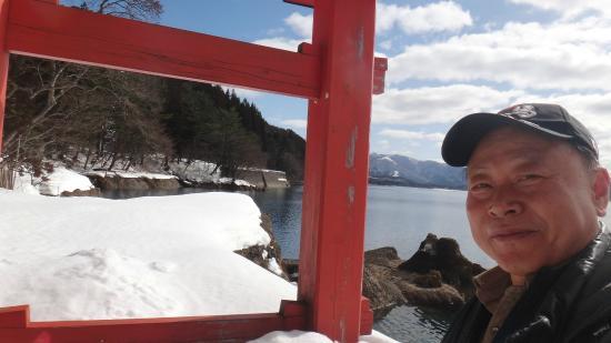 Gozanoishi Shrine : 타자와코에 있는 아름다운 신사