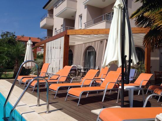 Villa Marea: Pool area