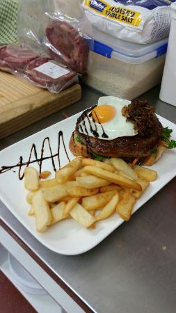Toot & Whistle Inn: Some of our range of awesome meals