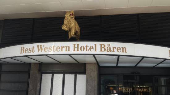 Hotel Baren am Bundesplatz: Приятный современный отель в центре Берна.