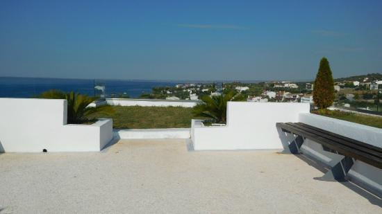 Trikorfo, Hellas: vue de l'hôtel