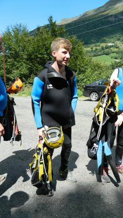 Hotel Les Sorbiers: canyoning