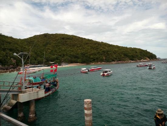Koh Lan (Coral Island): ท่าเรือตาแหวน