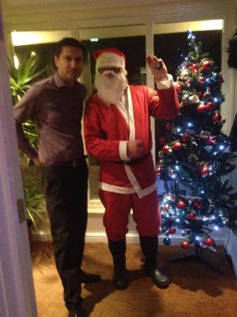 So India: Guffi With Father Christmas..