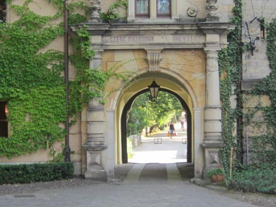 Kliczkow Castle: Doorzicht Poort