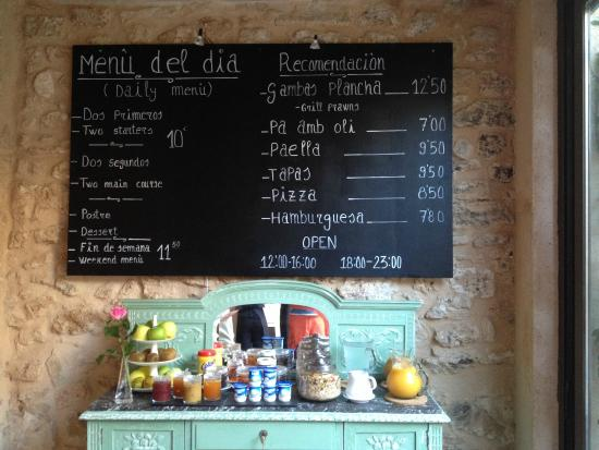 Hotel Ca'n Pere: Good value restaurant and high quality food