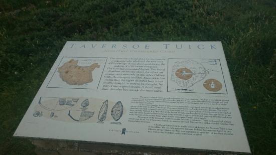 Rousay, UK: Unusual!