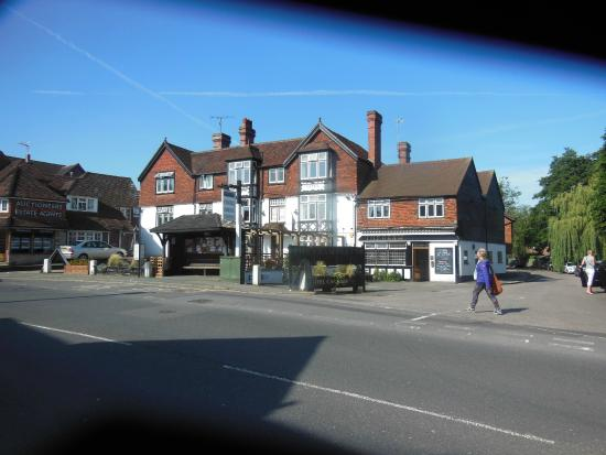 Brambletye Hotel: View from across the the road.