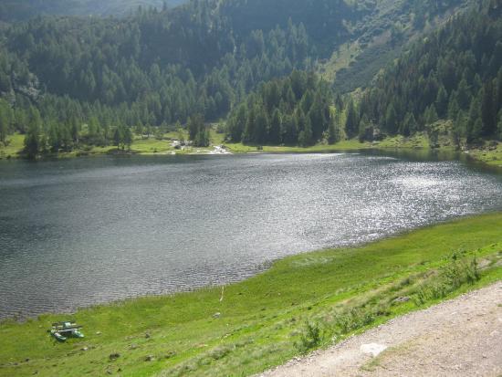 Rohrmoos-Untertal, ออสเตรีย: vista lago