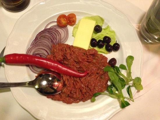 Schanzer Steakhouse: Tatar