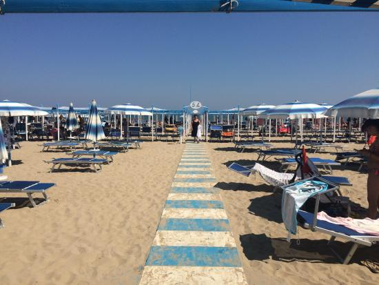 ريتشوني, إيطاليا: Spiaggia