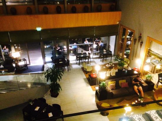 Golden Residence: De lounge.
