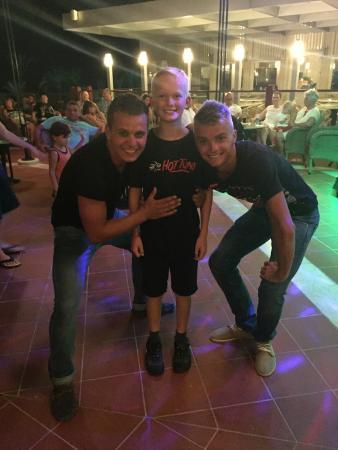 SENTIDO Perissia: Jack with Ruslan & Egor