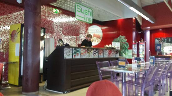 Sushi Line restaurant in Tallinn