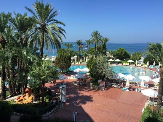SENTIDO Perissia: View from Paloma at breakfast