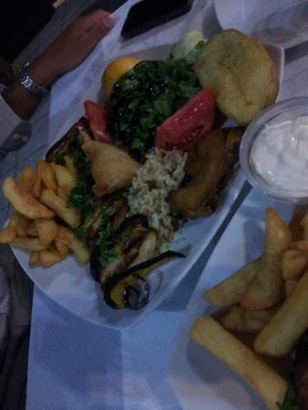 Green Park Restaurant : Spiedino di pesce spada