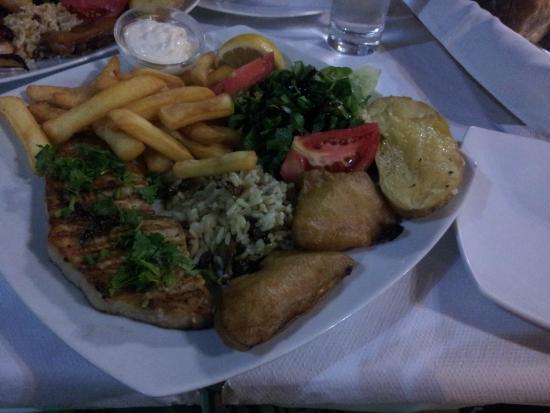 Green Park Restaurant : Filetto di pesce spada