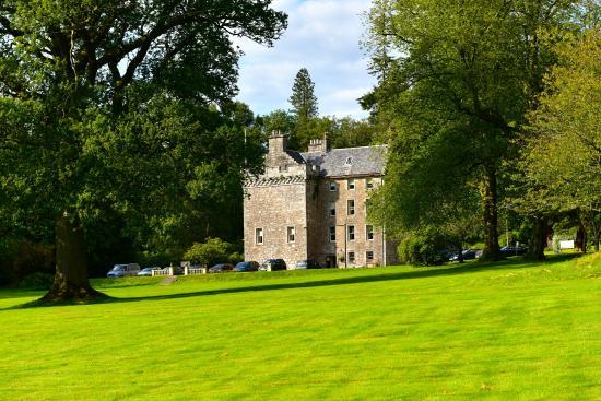 Fintry, UK: hôtel-château dans un parc magnifique !