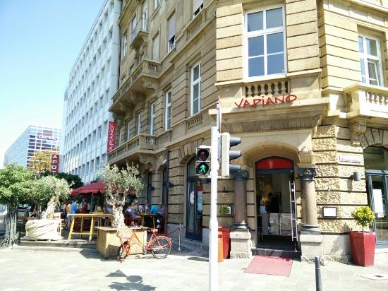 vapiano mannheim friedrichsplatz 1 restaurant bewertungen telefonnummer fotos tripadvisor. Black Bedroom Furniture Sets. Home Design Ideas