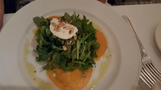 Geranio Ristorante : Salad with Heirloom Tomatos/Lemon Vinaigrette