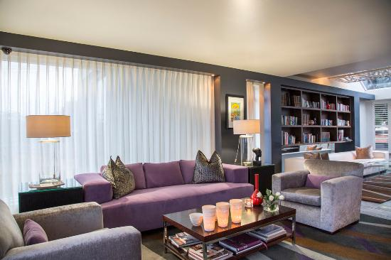 O on Kloof Boutique Hotel & Spa: Lounge
