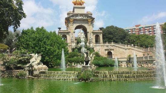 Parc de la Ciutadella: fontana