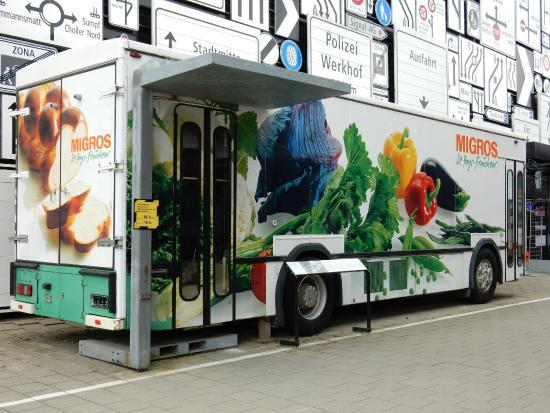 7ed1bdc71321d7 Bus Migros le Valaisan - Picture of Verkehrshaus der Schweiz ...