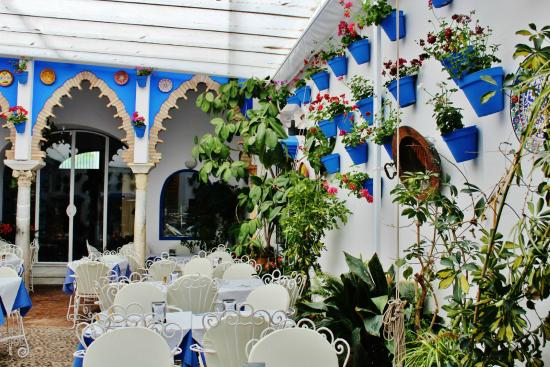 Hotel Gonzalez: Patio interno