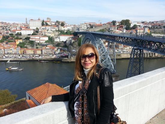 Quality Inn Portus Cale : Rio DOURO.De um lado o Porto. Do outro, Vila Nova de Gaia. No meio das duas cidades, o rio Douro