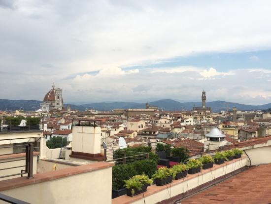 The Westin Excelsior Florence: La meilleure terrasse panoramique de Florence