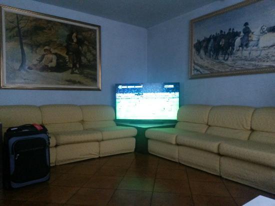 Piccolo Hotel: Serie A in the Lobby