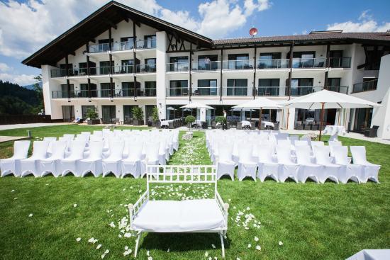 Hochzeitszeremonie Im Hotelgarten 2 Picture Of Das Graseck My