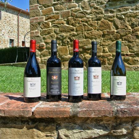 Ciggiano, Italië: I loro vini... Da degustare tutti!!