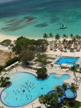 Hotel Riu Palace Antillas: habitacion con vista al mar