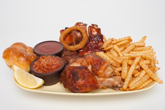 Combo picture of bar b barn pointe claire tripadvisor for Ares cuisine pointe claire