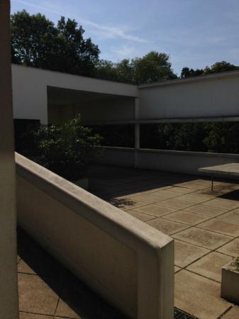 Villa savoye terrasse et jardin suspendu photo de villa savoye poissy tripadvisor - Terrasse jardin suspendu montreuil ...