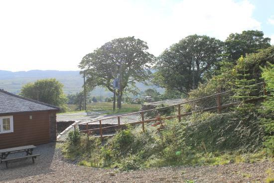 Trawsfynydd Holiday Village: View from the bunk house