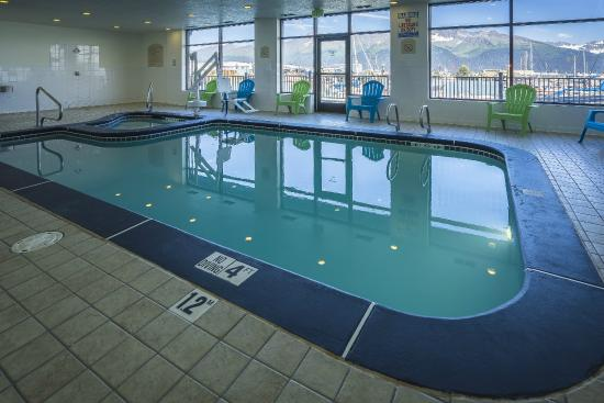 Harbor 360 Hotel: Only hotel in Seward with an indoor swimming pool.